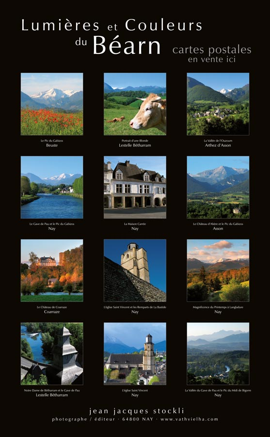 cartes postales pays de nay