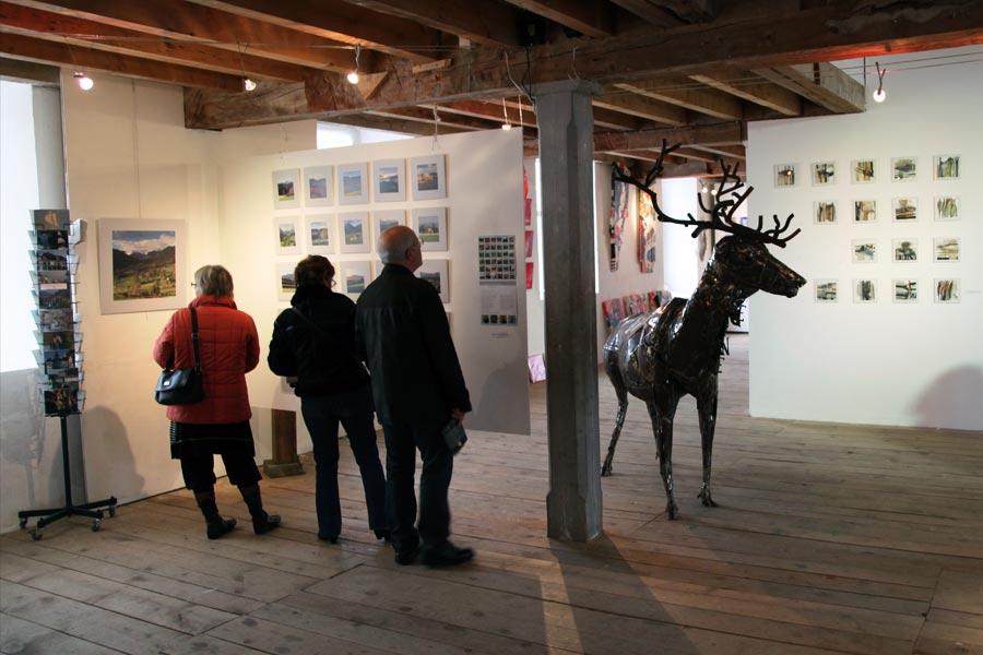 Expositions cadeaux d'artiste à la Minoterie - photographie stockli